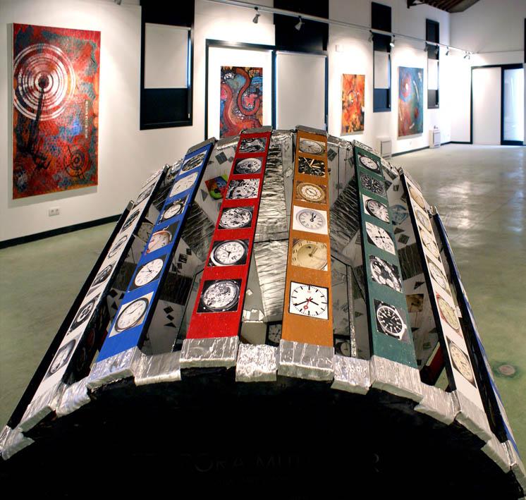 """TEMPORA MUTANTUR - Instalation in der Ausstellung """"CIRCULOS"""""""
