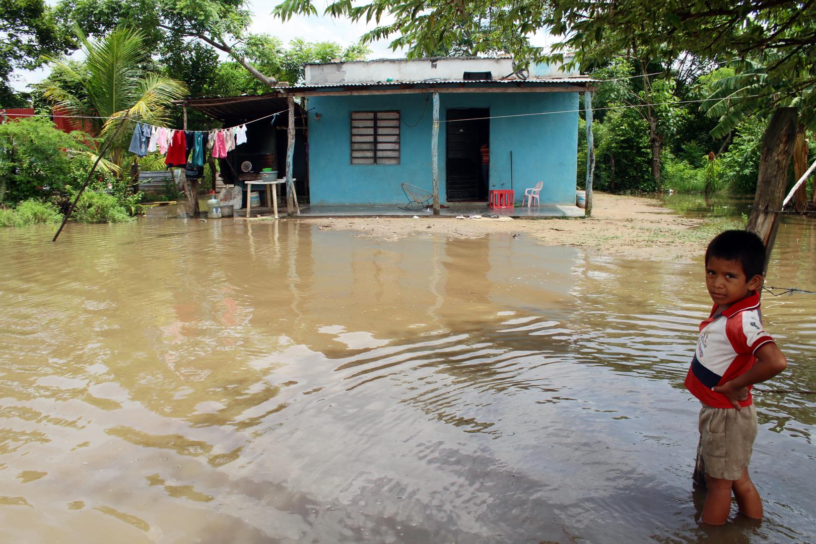temporada de inundación