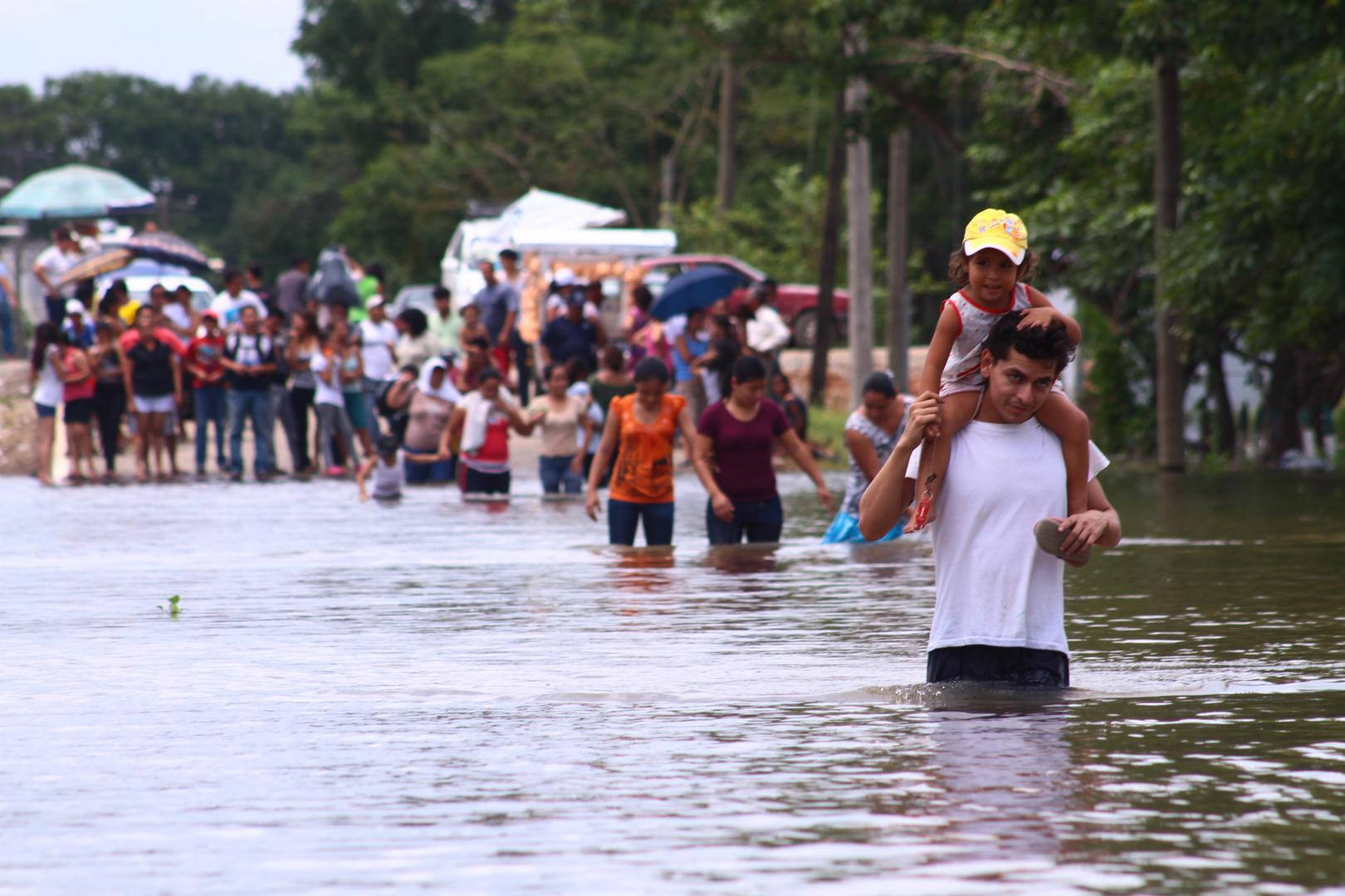 temporada de inundacion en tabasco