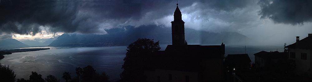 Temporale sul Lago Maggiore
