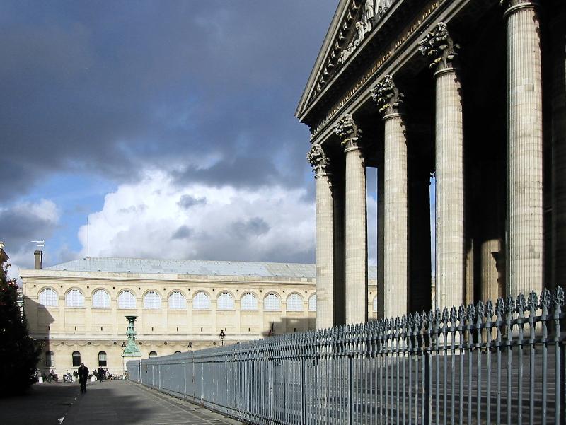 Temps d'orages sur le Panthéon...