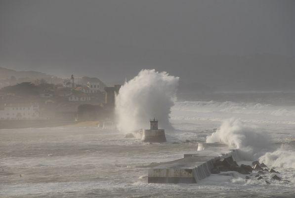 Tempête au Pays Basque