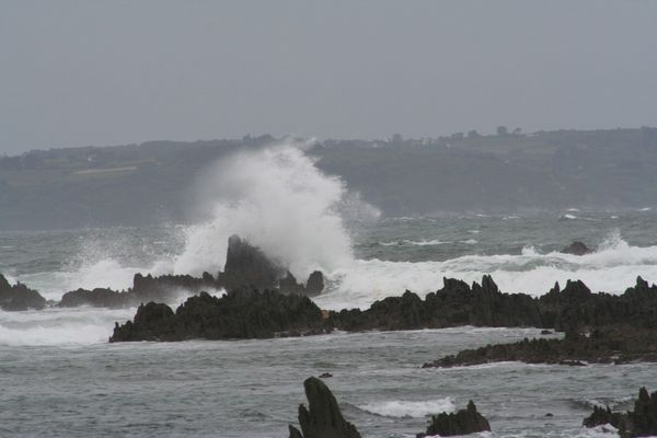 Tempête en Bretagne
