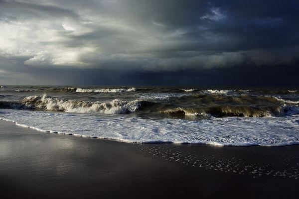 Tempête en Normandie