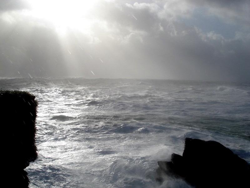 tempête pointe du raz