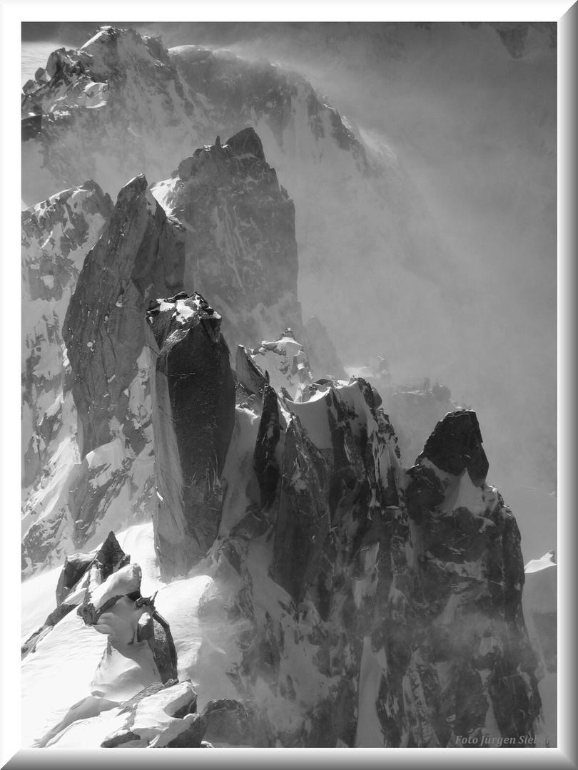 Tempête sur Chamonix