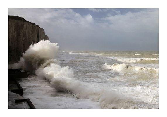 Tempête sur la Manche