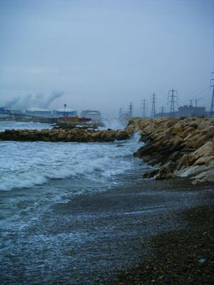 Tempête sur la mediterranée