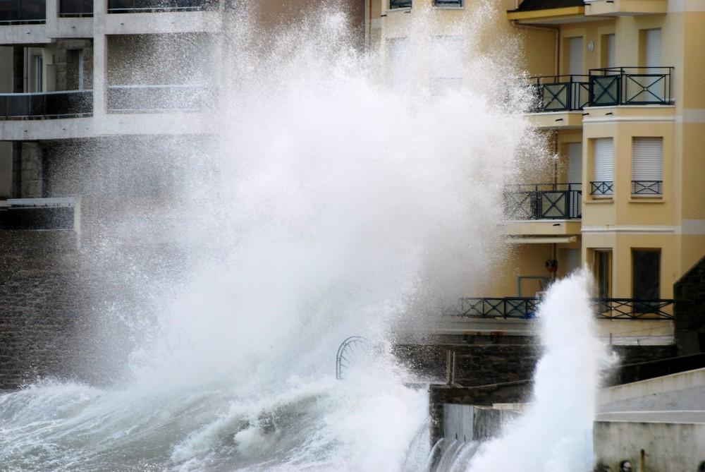 tempête sur ST MALO