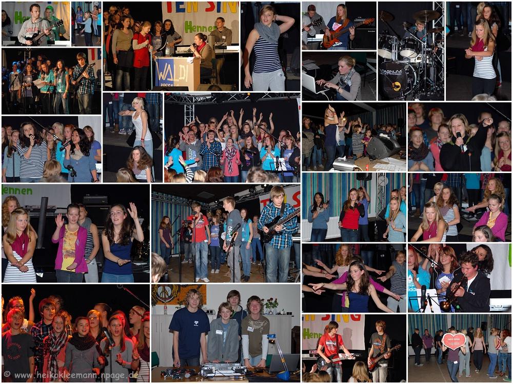 TEN SING in Hennen am 19.11.2011