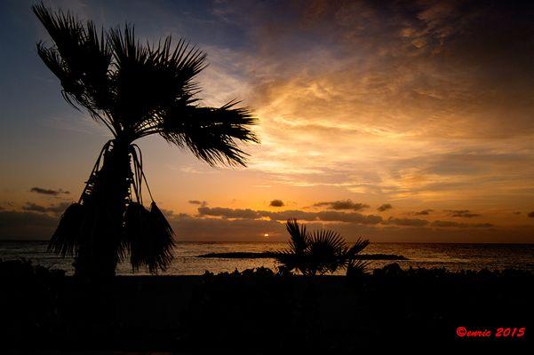 Tenerife, Puertito de Güimar, sunrise