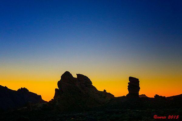 Tenerife, Roques de Garcia, El Teide