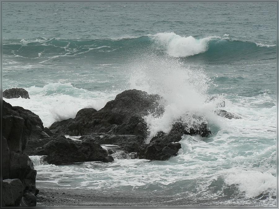 Teneriffa Dezember 2008 - Stürmisches Meer