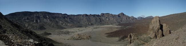 Teneriffa, Krater des Teide