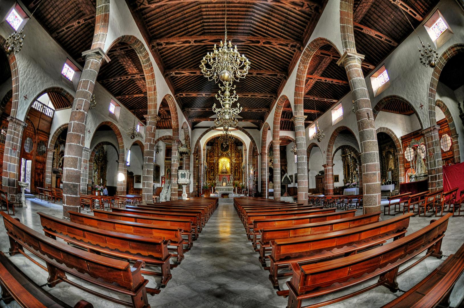 Teneriffa - Santa Cruz - Kirche Nuestra Senora de la Concepcion