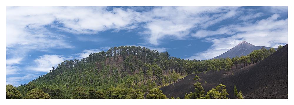 Teneriffa - Teide-Blick