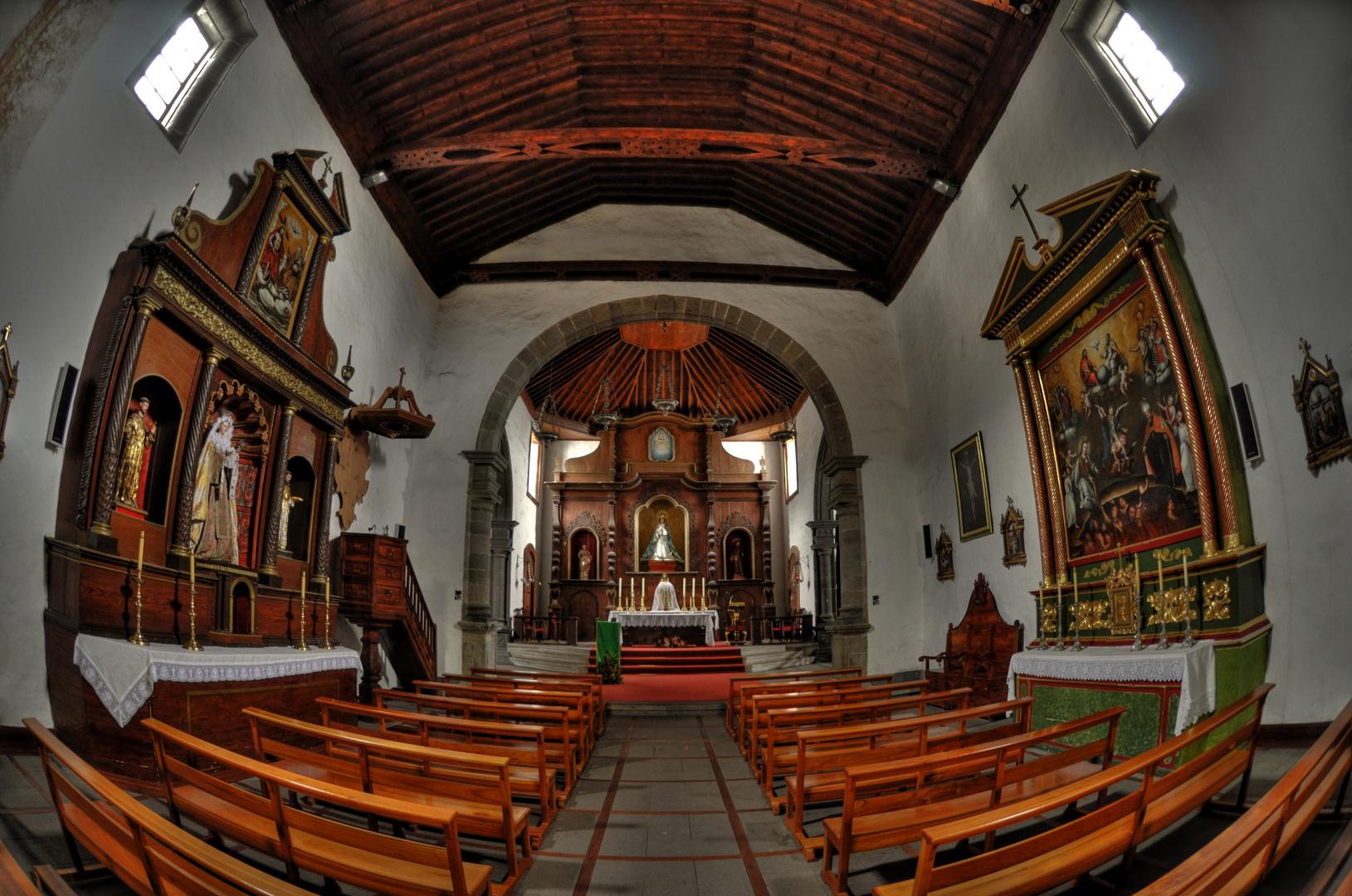 Teneriffa - Vilaflor - Iglesia San Pedro