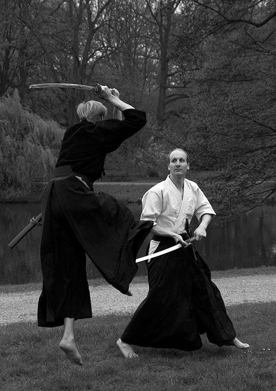 Tenshin Shoden Katori Shinto Ryu (0.5 Sekunden vor dem Ende)