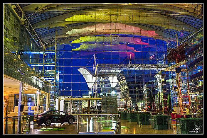 Terminal 2 vom Hotel Kempinski