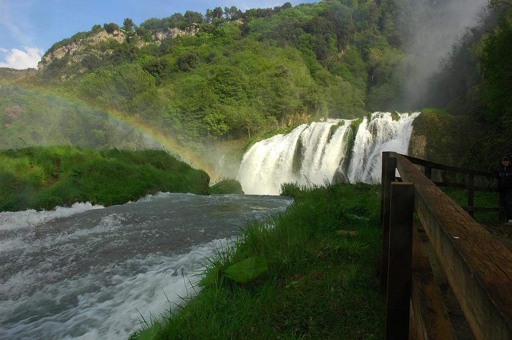 Terni - Le cascate delle Marmore.