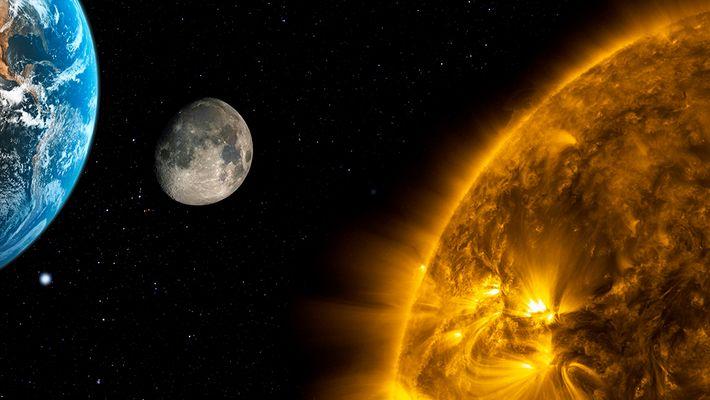 Terra sole e luna