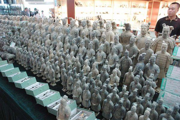 Terracotta Armee im Laden