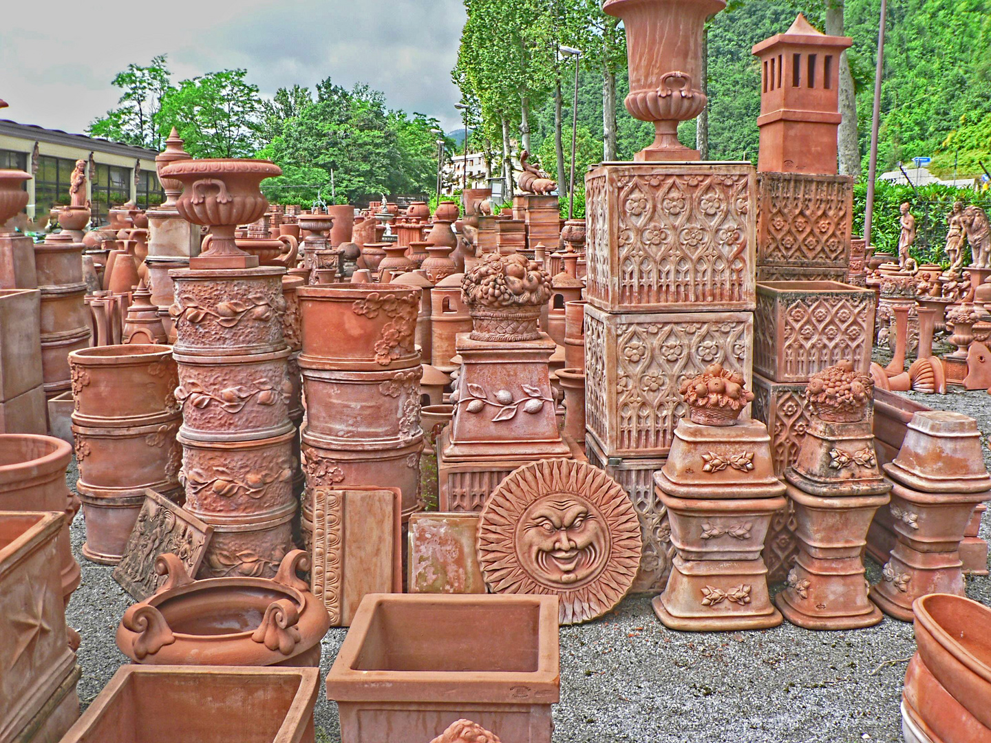 Terracotta in Impruneta