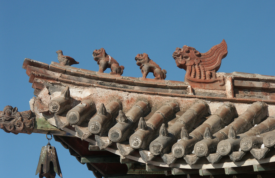 Terracotta in the sky