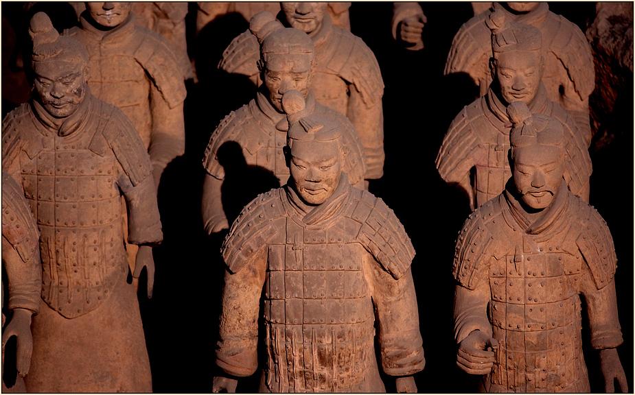 Terracotta-Krieger
