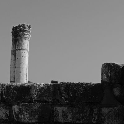 Terrasanta - Sinagoga di Cafarnao - 2