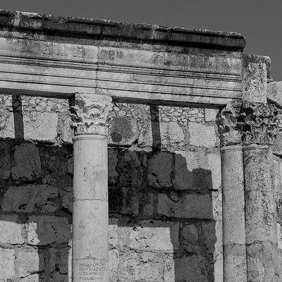 Terrasanta - Sinagoga di Cafarnao - 3
