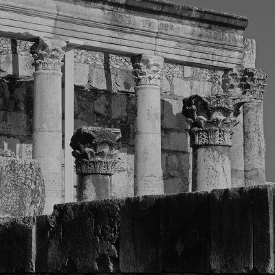 Terrasanta - Sinagoga di Cafarnao - 5