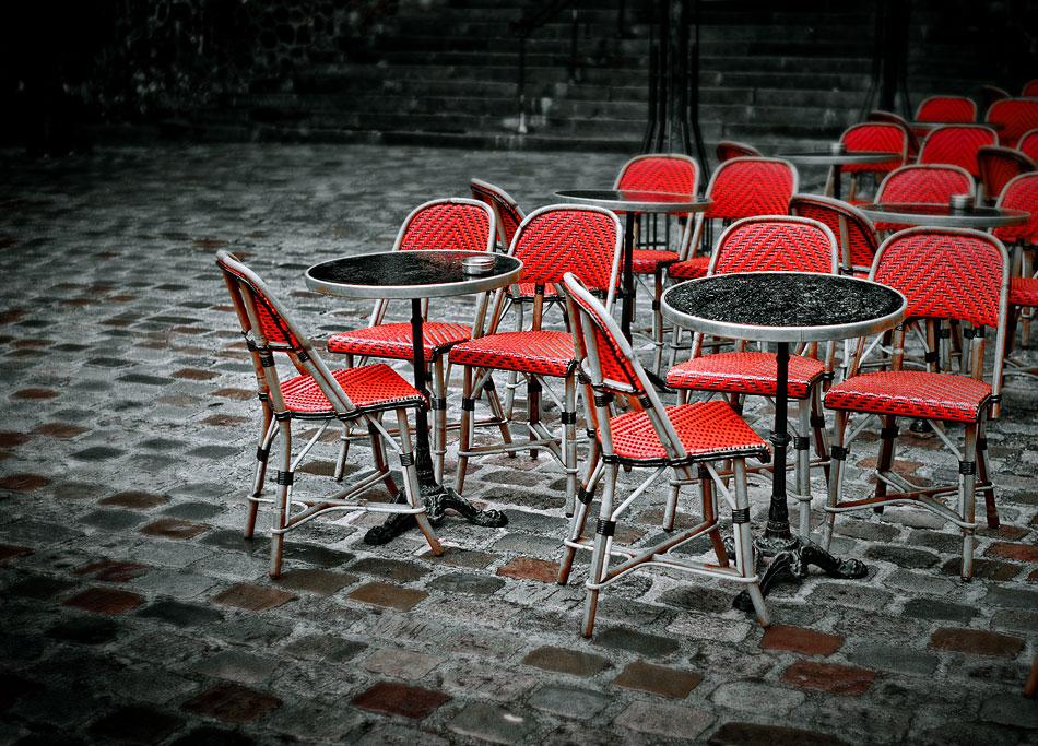 Terrasse à Montmartre
