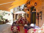 Terrasse à Sarlat