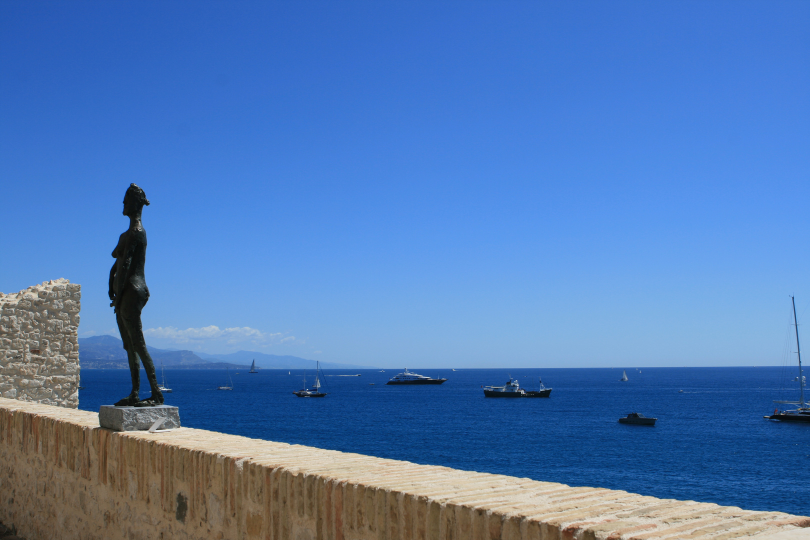 Terrasse aufs Meer