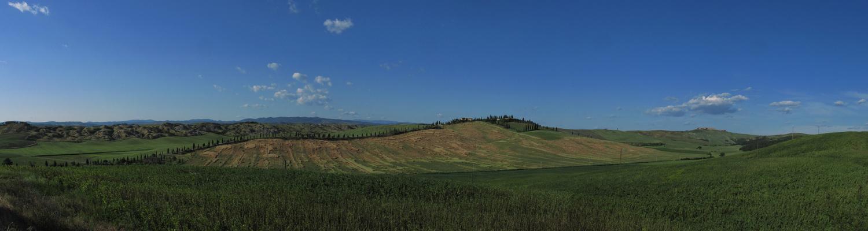 Terre di Siena, giugno 2009