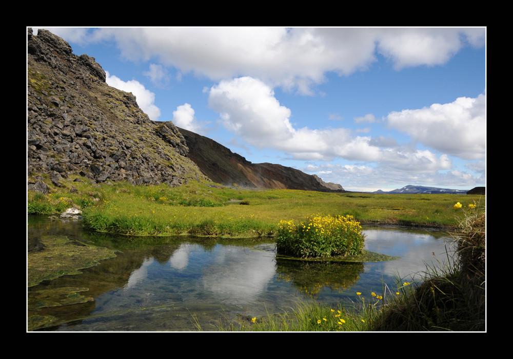 Terre d'Islande : Landmannalaugar