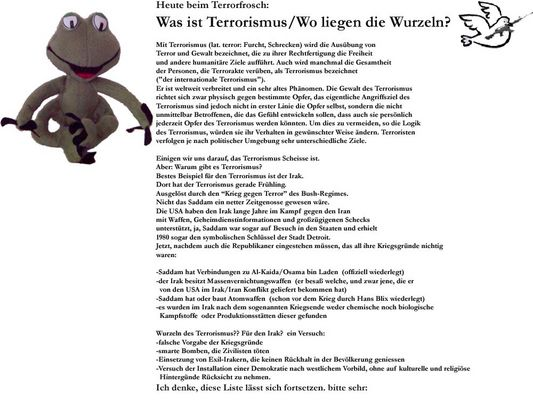 Terrorismus /Wurzeln