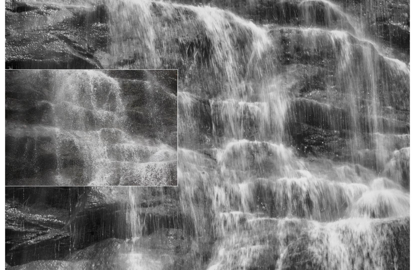Tessin / Ticino 2010 Wasserfall Begnasco Variation