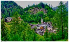 Tessiner Dorf im Mendrisiotto