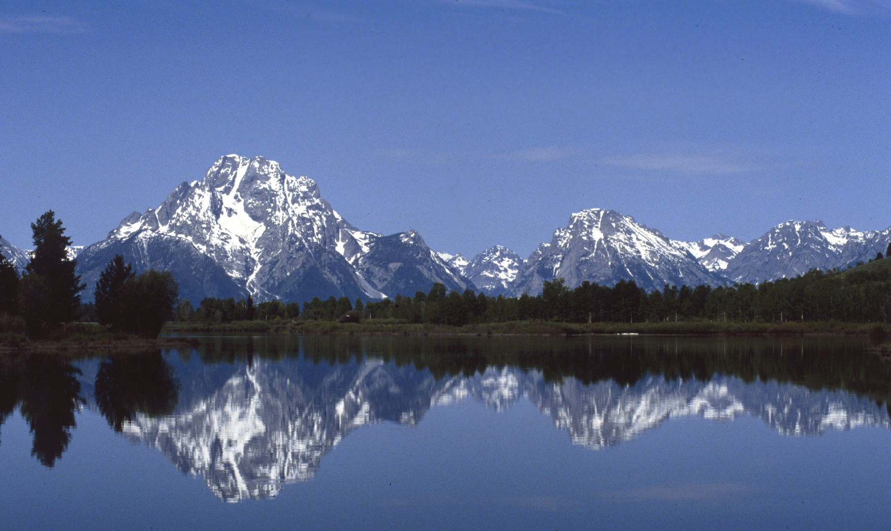 Teton Range - Wyoming