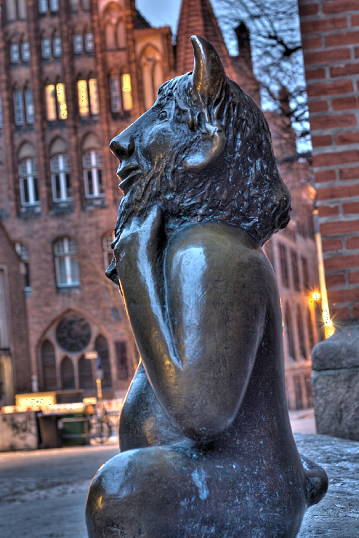 Teufel vor der Marienkirche