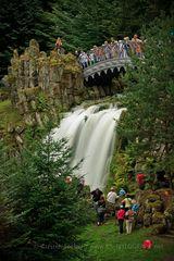 Teufelsbrücke im Bergpark Kassel / Weltkulturerbe