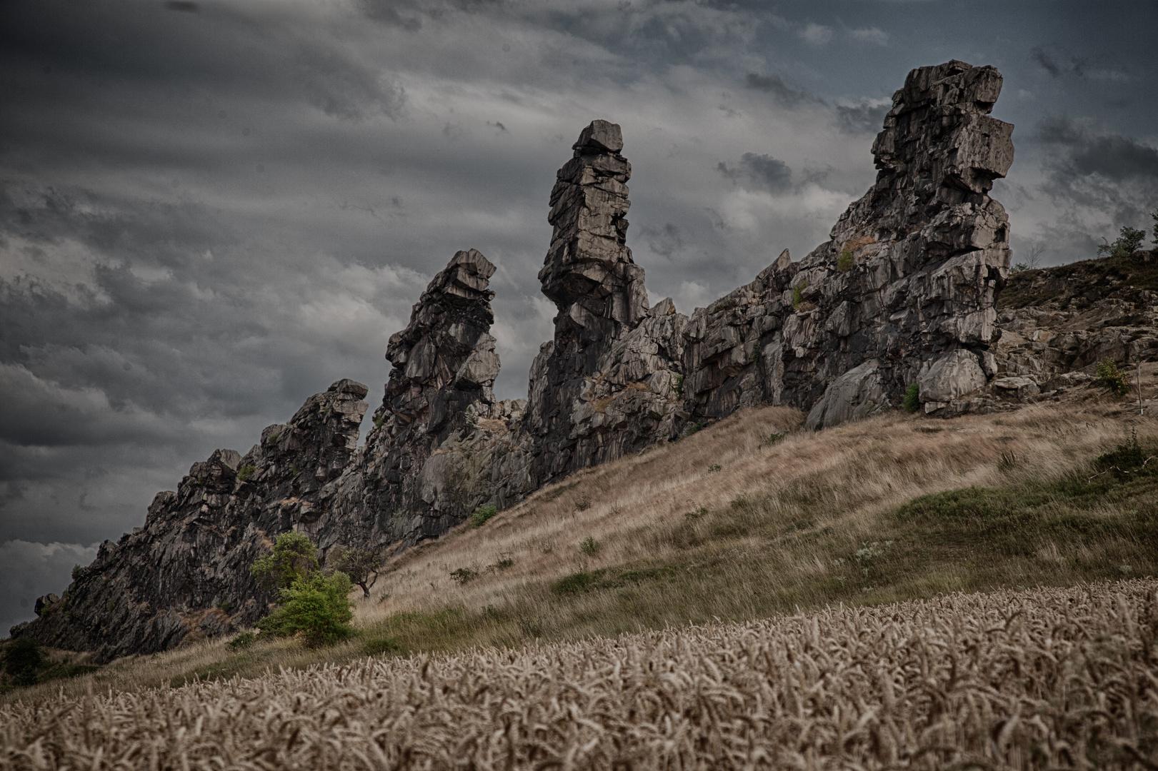 Teufelsmauer bei Weddersleben (Part I)