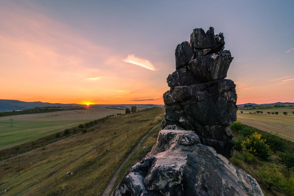 Teufelsmauer im Nordharz