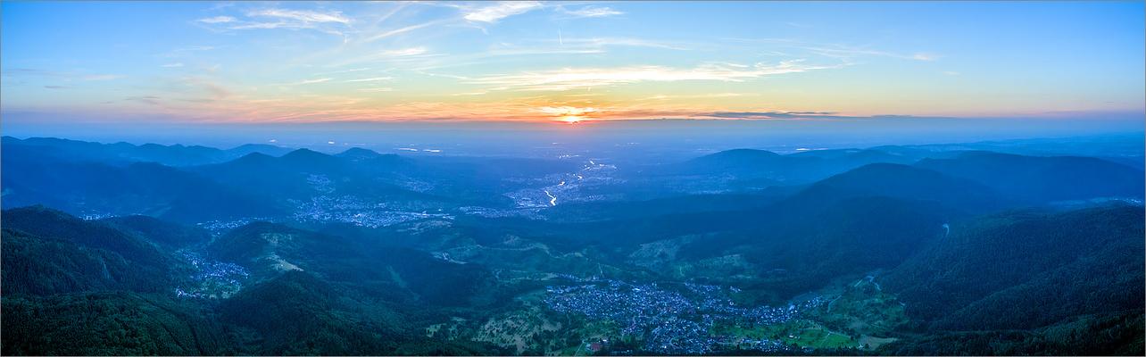 """Teufelsmühle (Schwarzwald) HDR Panorama I """"Fliegendes Stativ"""""""