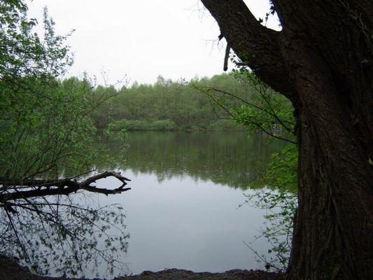 Teufelssee am Fuss der Müggelberge in Köpenick