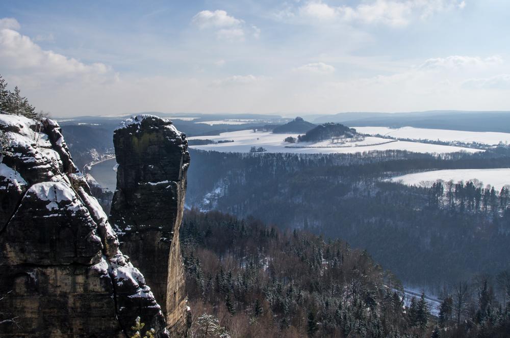 Teufelsturm im Winter