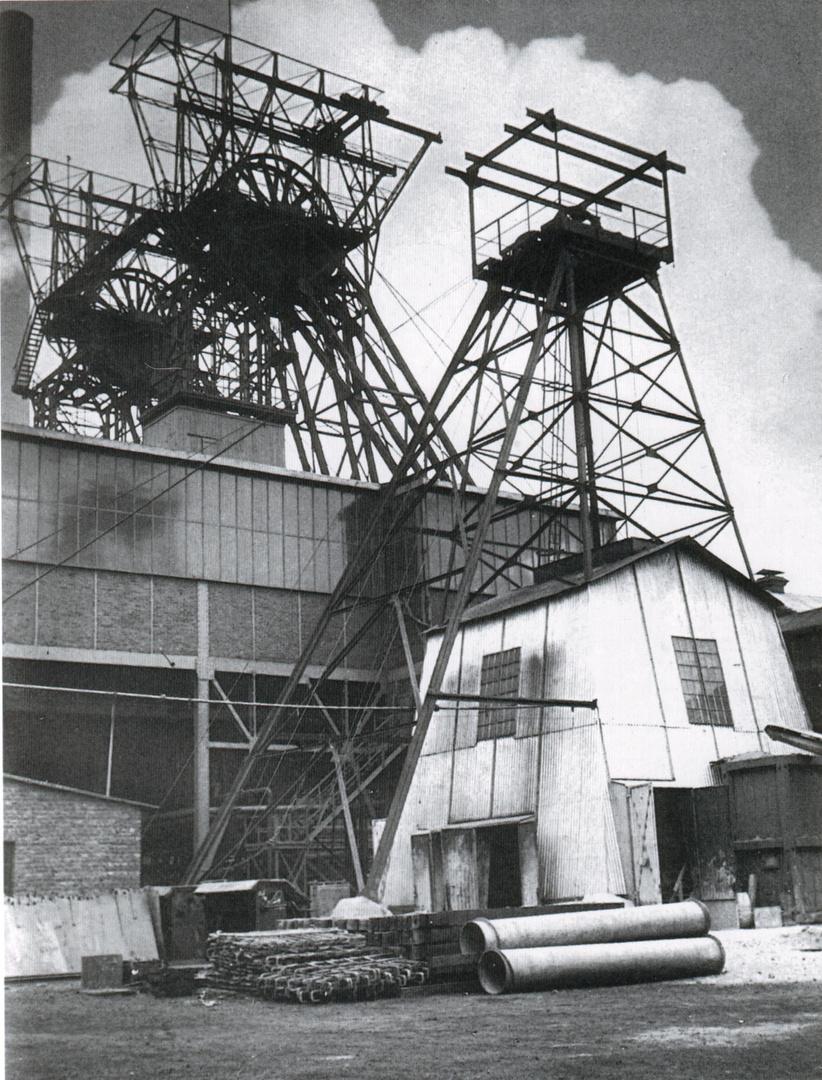 Teufgerüst Erin 7 um 1951