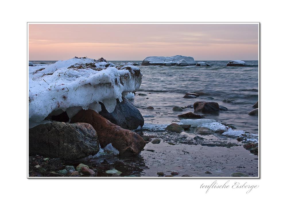 teuflische Eisberge